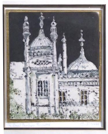 23 Brighton Pavilion Iris Davies SOLD