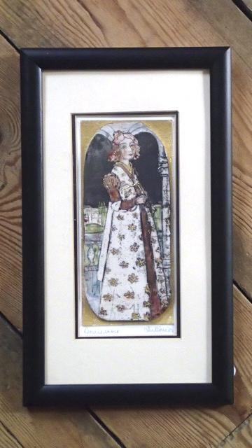 Renaissance Iris Davies raku