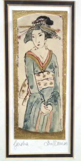 24 geisha green  Iris Davies