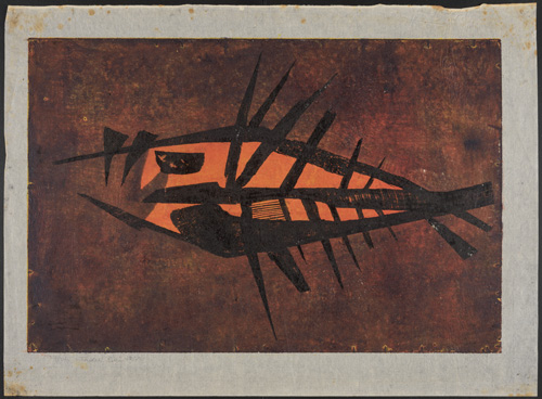 'Fish' print by Tadek Beutlich