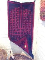 'Tapestry by Tadek Beutlich (double weaving technique).