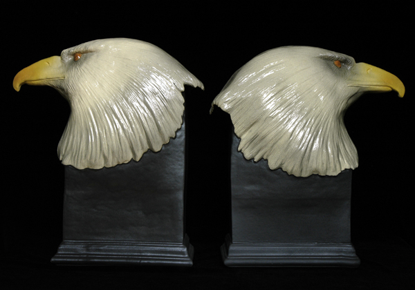 Eagle sculpture by Jackie Summerfield