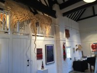Winged Insect hanging at exhibition in Ditchling 3-12 March 2017