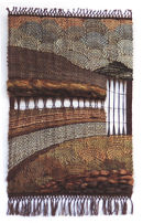 The Canal wallhanging by Fay Hankins