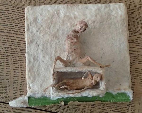 Figure in Cocoon by Tadek Beutlich