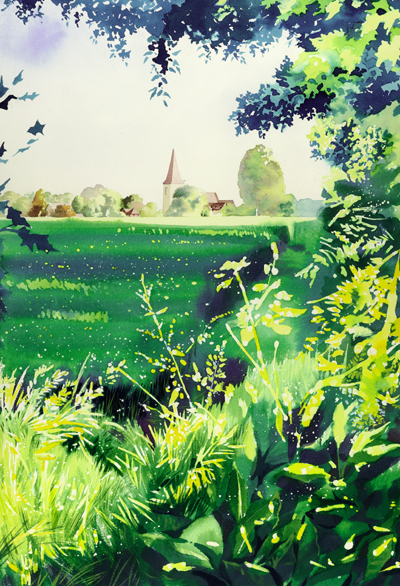 Large print of 'Old Heathfield' limited edition