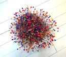 Pollination freewarp tapestry piece by Tadek Beutlich