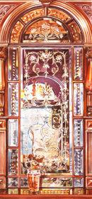 'Reflections' watercolour by Liz Hankins