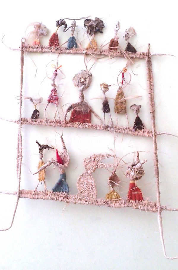 Tadek Beutlich 'Grotesque Figures 1'