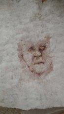 Tadek Beutlich textile face