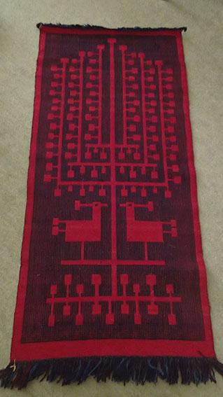 Tadek Beutlich Double weaving tapestry