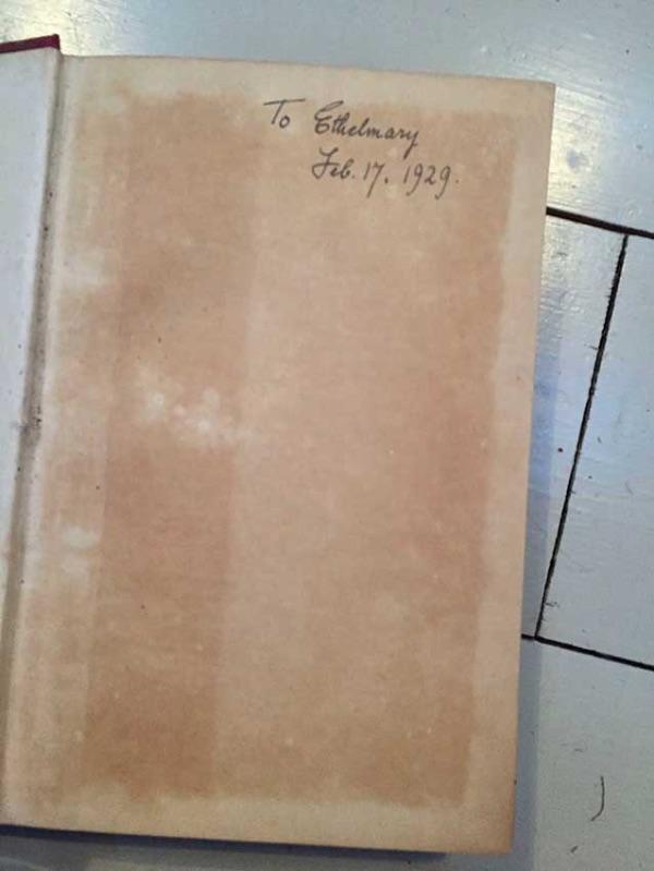 Understanding Human nature inscribed Ethel Mairet 1929