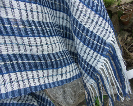 silk/cotton stole SOLD
