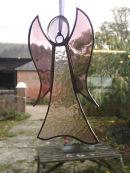 Glass angel by Tracie Wolstenholme