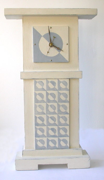 "mantle clock Design ""Aluna"""
