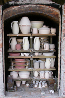 Matthew Bayman's wood-fired kiln