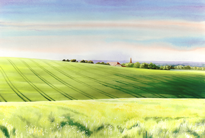 Summer Breeze, Alfriston (Comp Valley)