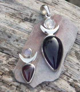 High Priestess pendants