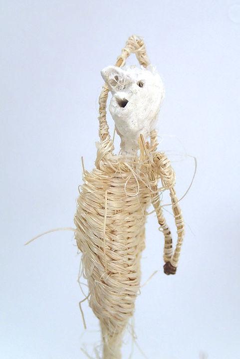 woven figure by Tadek Beutlich