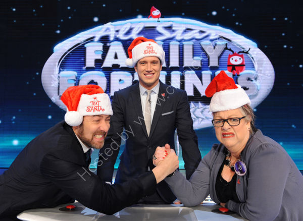 All Star Family Fortunes - Text Santa Special