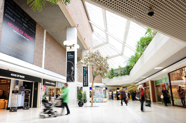 The Ashley Centre, Epsom. Image for advert
