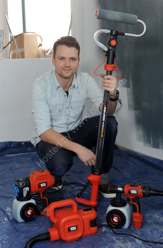 Ben Hillman with Black & Decker tools