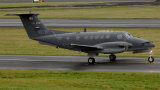 US Army  Beechcraft  B200C Super King Air   N57B