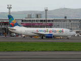 Small Planet Airlines  Boeing 737-382  LY-FLH