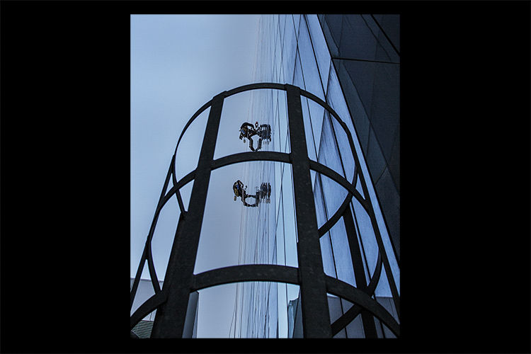 Abseiling Window Cleaners
