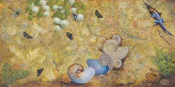 Living Fossil Mural