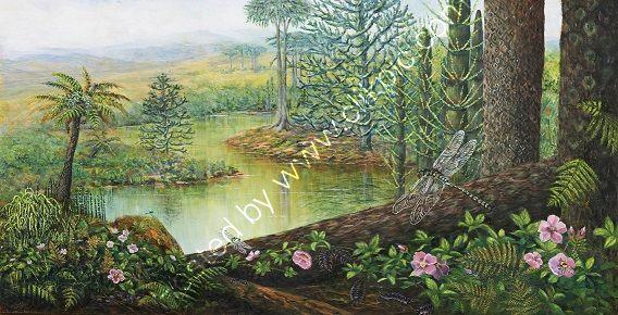 Mural Trees