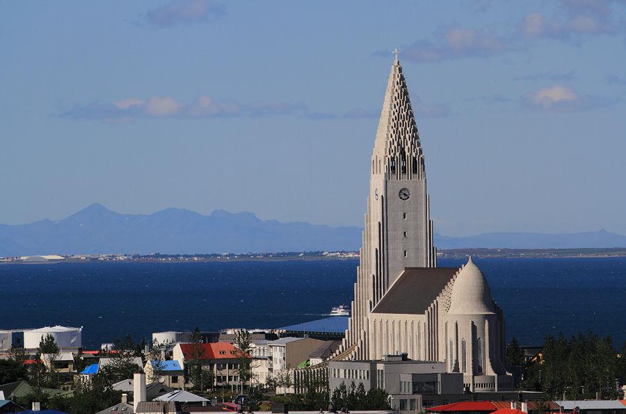 View Over Reykjavik