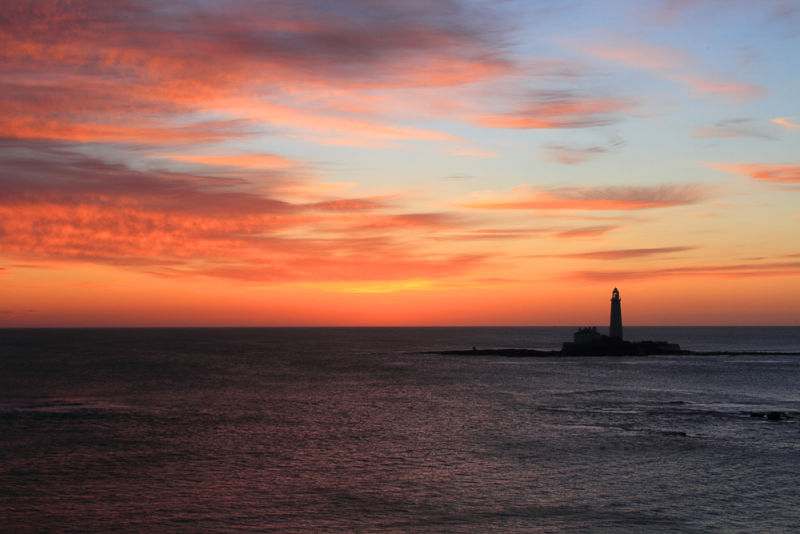 Sunrise Over St. Mary's