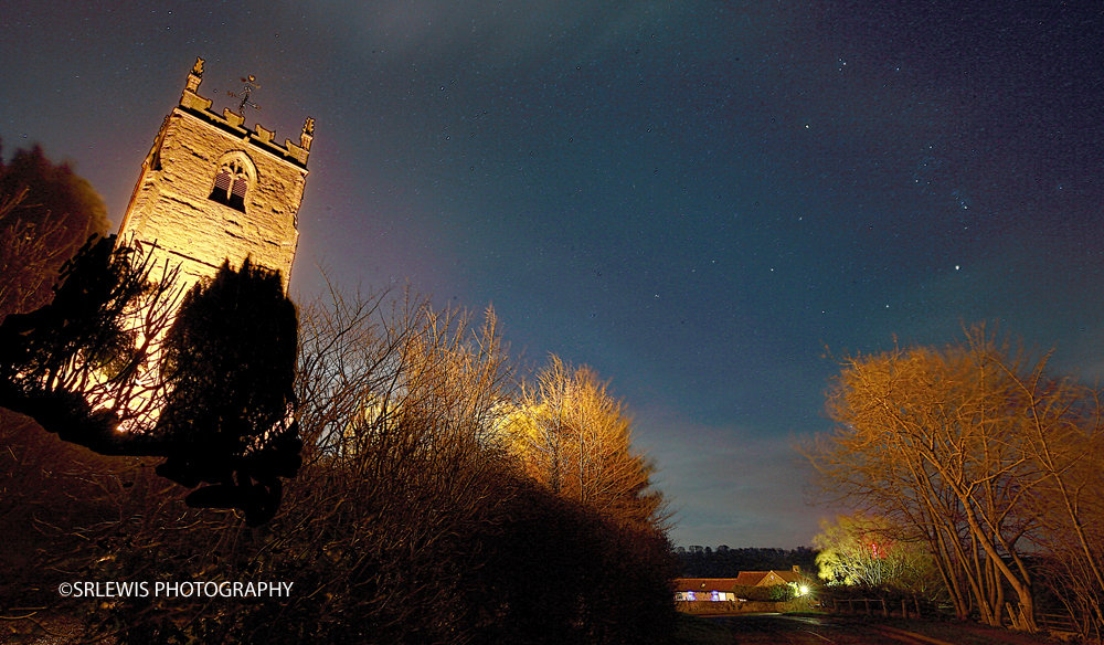Stars Over All Saints' Church