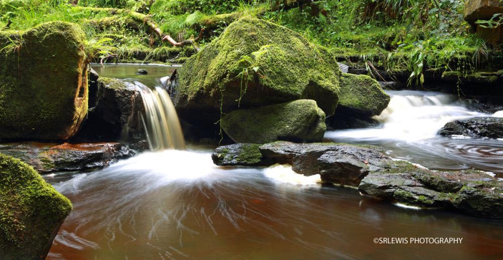 The Lower Cascades, Hareshaw Linn