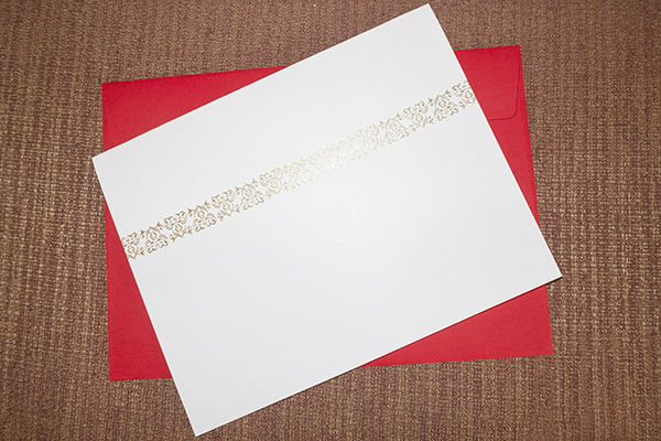 Example Gift Voucher [ front view ]