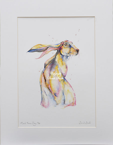 Mad Hare Day Limited Edition Prints and Cards