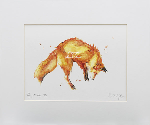 Foxy Mover Limited Edition Prints and Cards