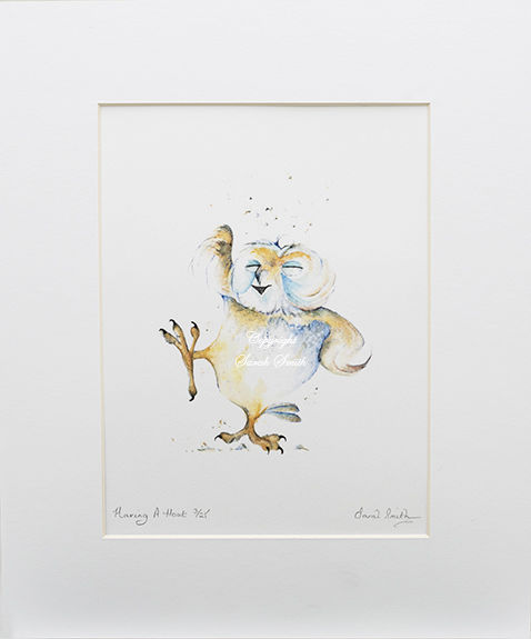 Having A Hoot Limited Edition Prints and Cards