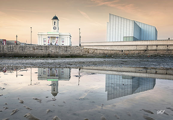 Evening Reflections at Margate