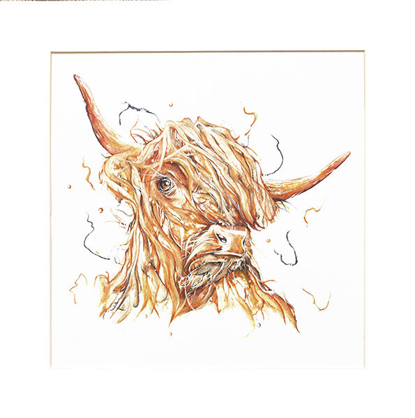 Hairy Hamish Limited Edition Prints and Cards
