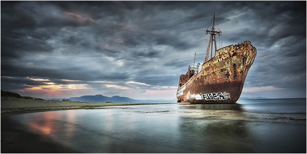 Dimitrios Shipwreck, Greece