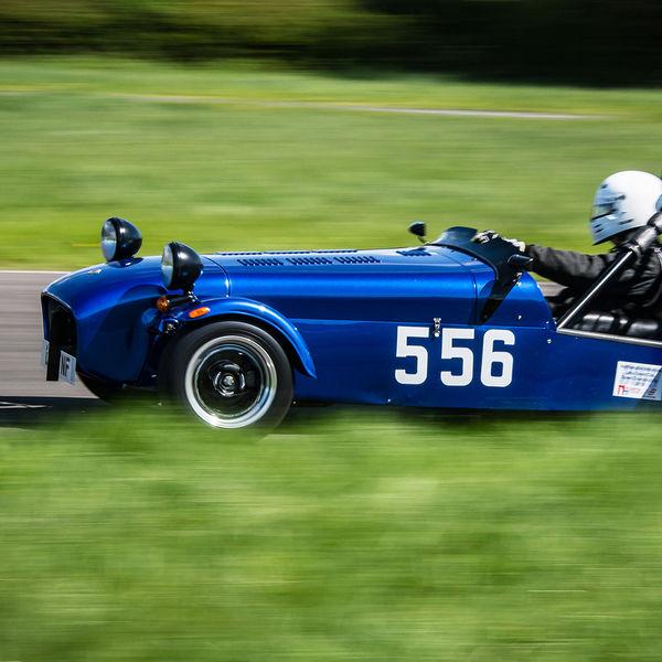 Lotus 7 Club Speed Championships, Curborough.