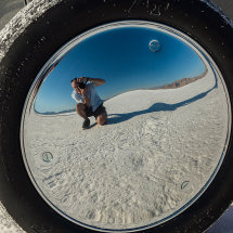 Salt Lake Selfie !