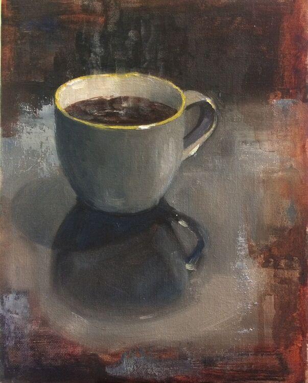 <em>Coffee</em>. 8x10 ins £288