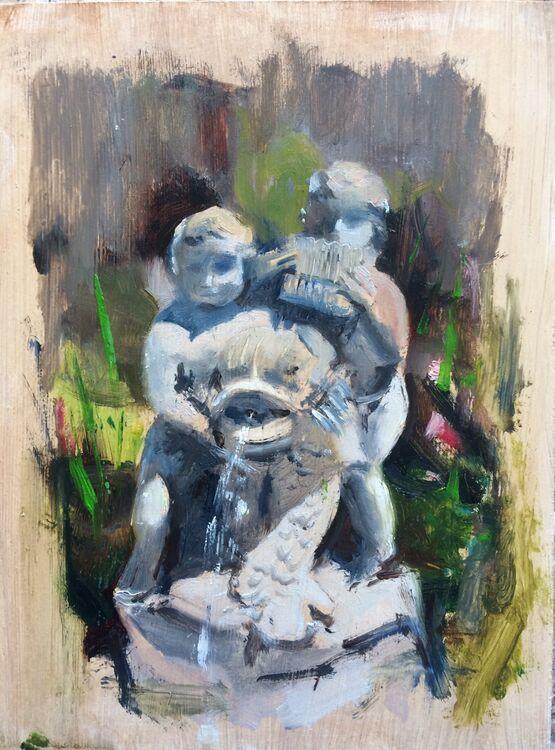 <em> Sorrento Statue</em> 8x6 £100