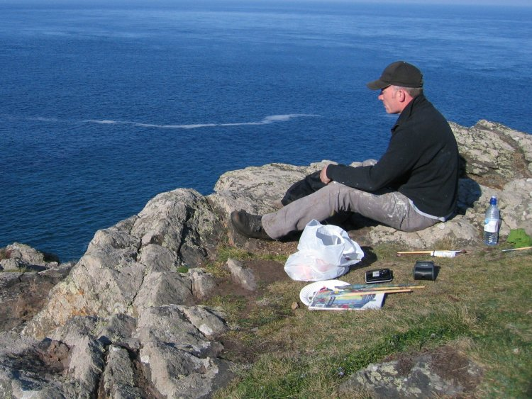 Out at Pendeen Cornwall