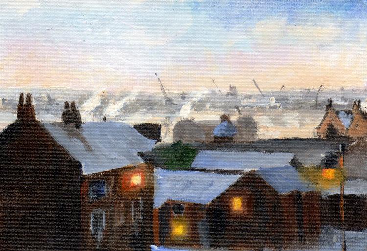 <em> Liverpool painting No.106 St James' Gardens.</em> 6x8 £224