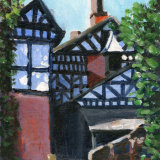 Liverpool painting No.115 Speke Hall