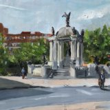 Liverpool painting No.131 Derby Square